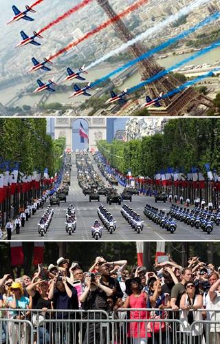 パリ祭7月14日,フランス革命記念日7月14日,パリ祭花火,パリ祭パレード,フランス7月14日の観光,7月14日革命記念日のパリでの過ごし方,7月14日革命記念日のパリ観光