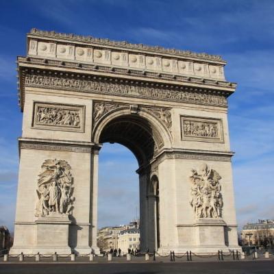 パリ凱旋門,パリ凱旋門入場料,パリの凱旋門見どころ,パリ凱旋門開館時間,パリ凱旋門行き方,パリ凱旋門ガイド
