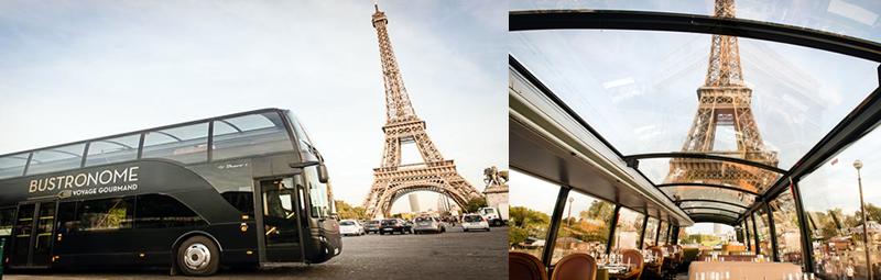 パリ観光,パリ観光バスツアー,おすすめパリ観光バスツアー,パリ観光レストラン,BUSTRONOME,パリのレストラン,パリの夜景ディナー,パリのイルミネーション