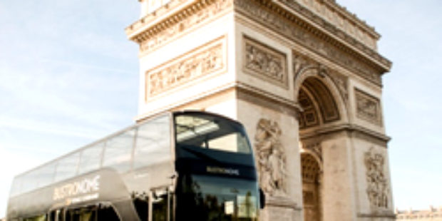 パリで絶賛!進化したパリ観光レストランバスツアーBustronome