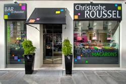 マカロン&チョコレート専門パリのスイーツ店Christophe Roussel