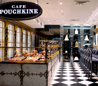 おいしいスイーツがあるカフェ,オペラ座Café Pouchkine