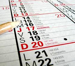 フランスの祝日2016年,フランスの祝祭日カレンダー2016年,フランスのカレンダー2016年,フランスの休み2016