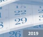 フランスの祝日2019年,フランスの祝祭日カレンダー2019年,フランスのカレンダー2019年,フランスの休み2019年