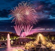 【夏限定】ヴェルサイユ宮殿の夜の大噴水ショーと花火2020年イベント情報