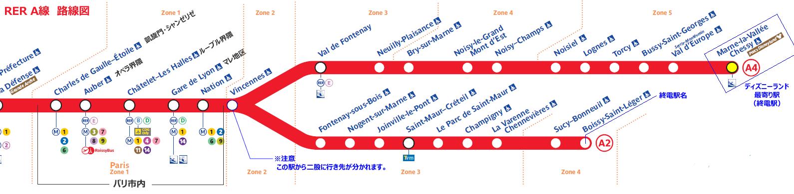 ディズニーランド・パリ,パリのディズニーランド行き方,ディズニーランド・パリの情報,ディズニーランド・パリのチケット購入,ディズニーランド・パリ入場料,ディズニーランド・パリのガイド,,ディズニーランド・パリ周辺マップ,パリ電車路線図,ディズニーランド・パリ電車路線図