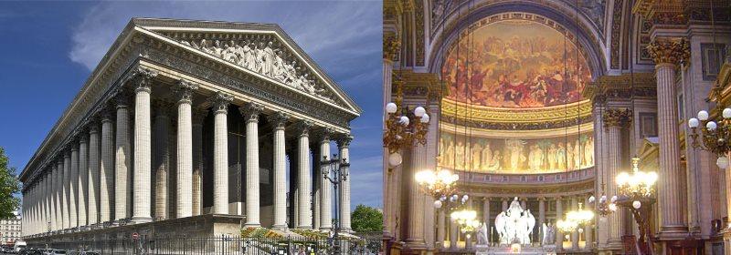 パリのマドレーヌ寺院,パリのマドレーヌ寺院行き方,パリのマドレーヌ寺院入場,パリのマドレーヌ寺院観光ガイド,パリのマドレーヌ寺院コンサート,パリのマドレーヌ寺院レストラン