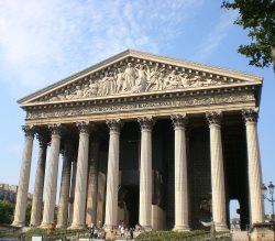パリのマドレーヌ寺院,パリのマドレーヌ寺院行き方,パリのマドレーヌ寺院入場,パリのマドレーヌ寺院コンサート,パリのマドレーヌ寺院レストラン