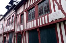 ノルマンディ港町オンフルールの観光ガイド情報,パリから行けるドライブ観光