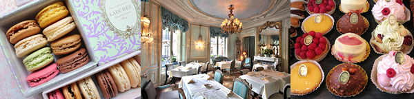 Laduréeラデュレ パリの朝食,ティーサロン,雑貨,パリの店舗リスト