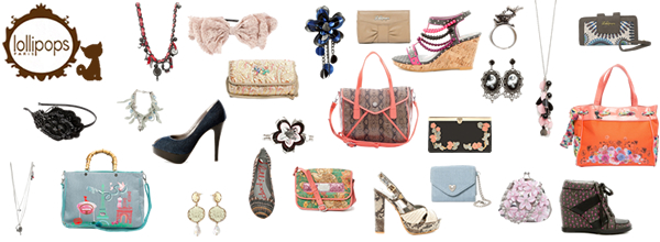 個性派キュートなバッグ,アクセサリー,靴,Lollipops Paris