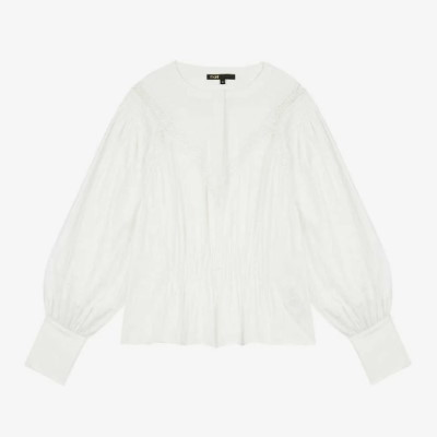 マージュのシャツ,majeシャツ,マージュのブラウス,majeブラウス,majeパリ,パリのブランドmaje,フランスのおすすめブランド,日本未入荷パリのブランド
