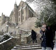 1月2月のモンサンミッシェルの天気と気温&服装・持って行く物