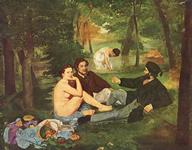 パリ,オルセー美術館,エドゥアール・マネ,草上の昼食