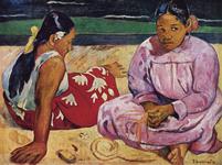 パリ,オルセー美術館,ゴーギャン,タヒチの女
