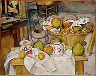 パリ,オルセー美術館,セザンヌ,台所のテーブル