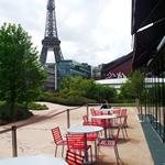 ケ・ブランリ美術館のカフェ,,le Café Branly,ルカフェ ブランリ