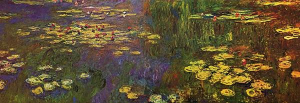 パリ,オランジュリー美術館,クロード・モネ,睡蓮
