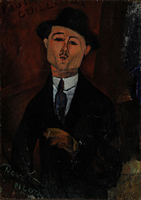 パリ,オランジュリー美術館,モディリアーニ,ポールギヨームの肖像