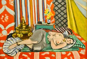 パリ,オランジュリー美術館,ヘンリー・マティス,Odalisque à la culotte grise