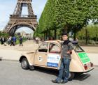 パリ観光,フランスクラシックカー,シトロエン,パリのプライベート観光,パリの貸切観光,パリの車貸切,Paris Authentic