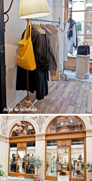 日曜に行けるショッピング,パリの散策道パッサージュ・ヴィヴィエンヌ,ブランドショップ