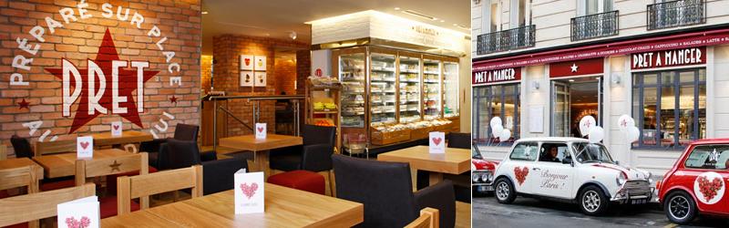 パリのファーストフード,パリのレストラン,パリのイートイン店,パリのテイクアウト,パリのランチ,Pret A Mangerパリ,パリのおすすめランチ