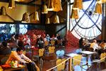 cafe Campana Musee d'Orsay,オルセー美術館内のカフェ