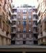パリのアパルトマン16区短期滞在可,パリのアパルトマン窓からの眺め,住人専用立入り禁止の中庭