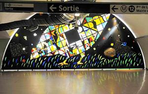 パリのメトロ,Madeleine,マドレーヌ駅