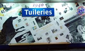 パリのメトロ,Tuileries,チュイルリー駅