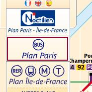 パリの路線バス乗り方,パリのバス,パリ車椅子,パリ車椅子旅行,パリの路線図