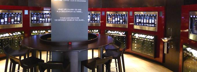 パリ口コミ人気店の立ち飲みワインバー,パリオペラ座のワインバー,パリ・シャンゼリゼのワインバー