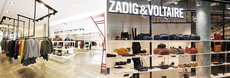 ZADIG & VOLTAIREパリ,ZADIG & VOLTAIREパリの店舗,パリのブランドショップ,フランスのファッションブランド,ZADIG & VOLTAIREメンズ,ZADIG & VOLTAIREレディース,