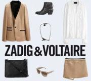 ZADIG & VOLTAIREファッションブランド パリの店舗リスト